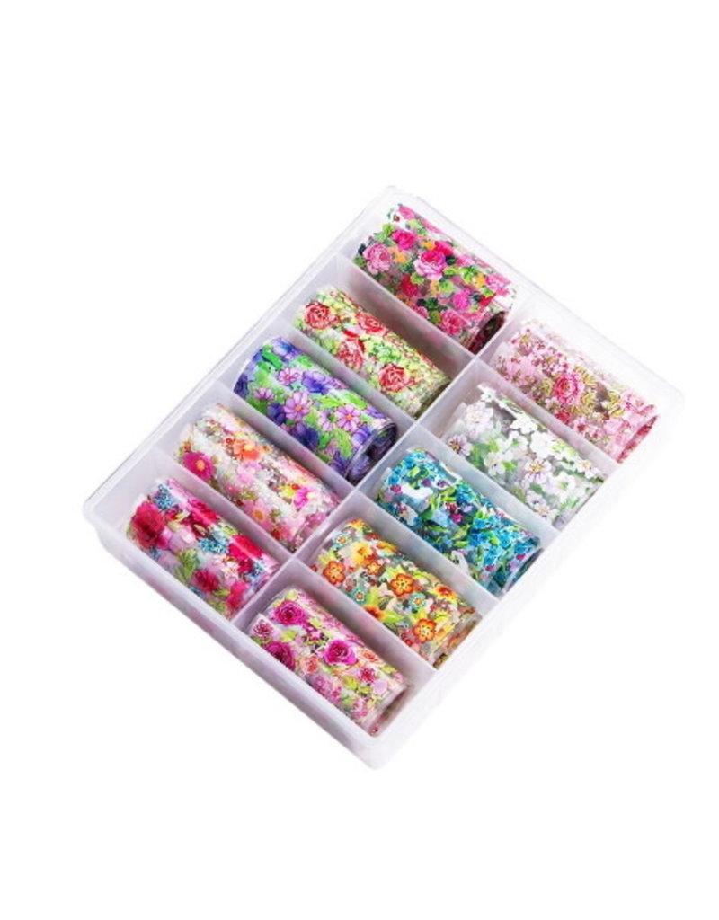 Transfer Foil Box Floral Beauty