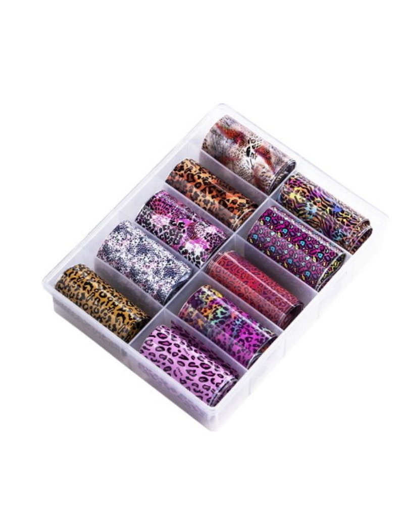 Transfer Foil Box Cheeta