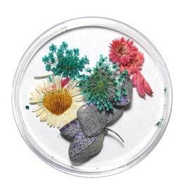 Droogbloemen Mix 3D Silver Flower