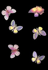 3D Butterfly Inlay Lilac