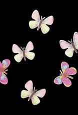 3D Butterfly Inlay Light Pink
