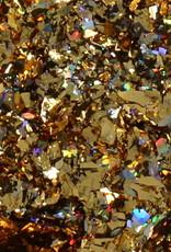 Galaxy Chrome Flakes Gold