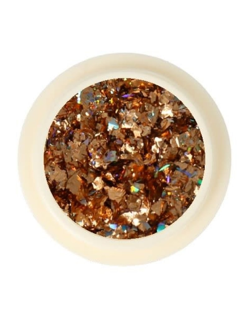 Galaxy Chrome Flakes Bronze