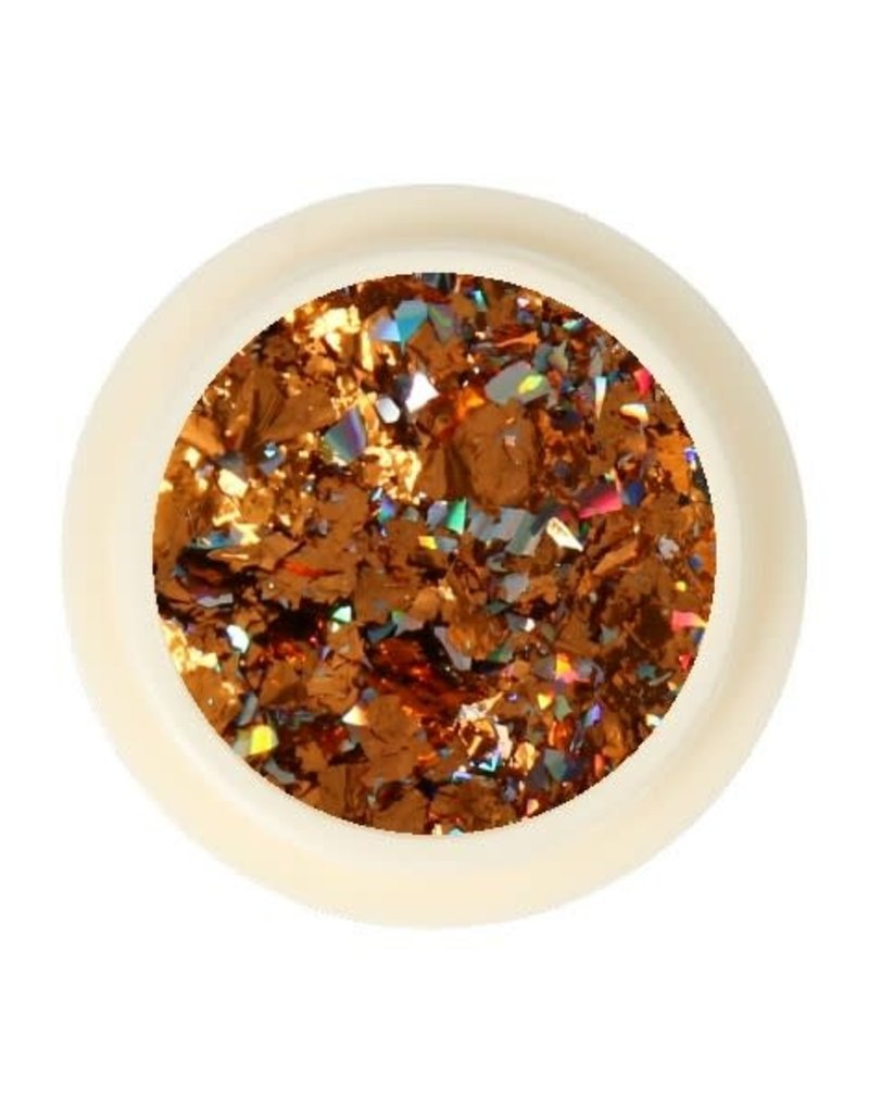 Galaxy Chrome Flakes Bronze/Silver