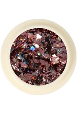 Galaxy Chrome Flakes Dusty Pink