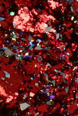 Galaxy Chrome Flakes Red