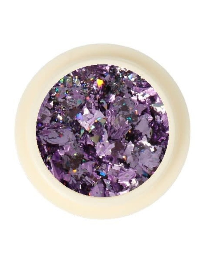 Galaxy Chrome Flakes Lilac