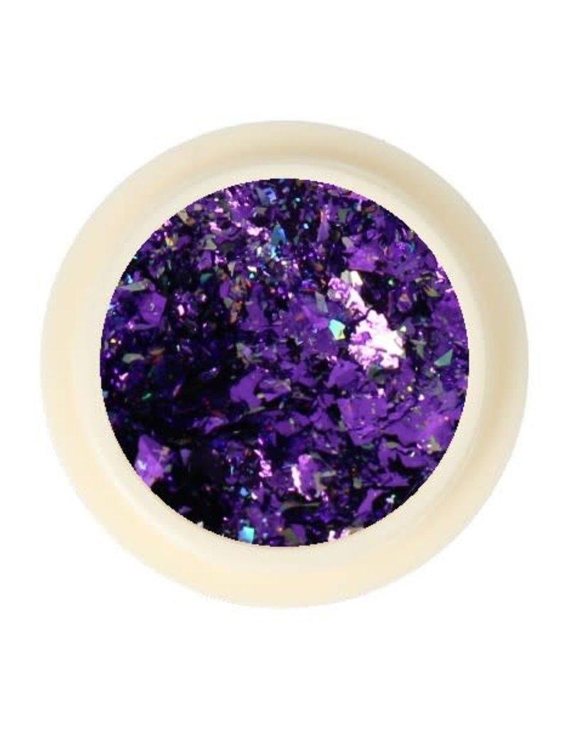 Galaxy Chrome Flakes Purple