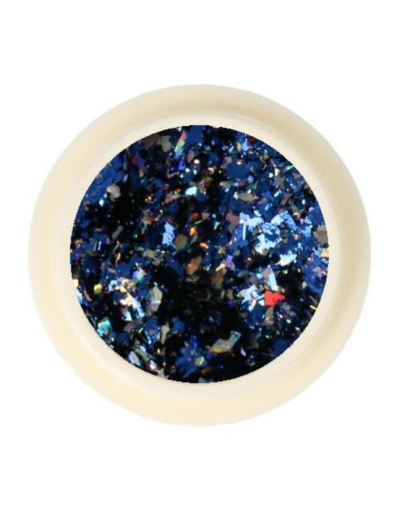 Galaxy Chrome Flakes Dark Blue