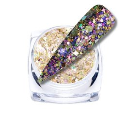 Chameleon Glitter Purple/Gold