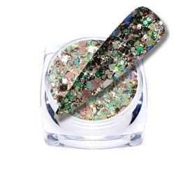 Chameleon Glitter Green/Bronze