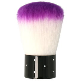 Nail Dust Brush Boll Purple