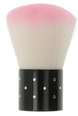 Nail Dust Brush Boll Pink
