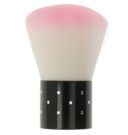 Nail Dust Brush Boll Pink
