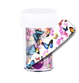 Transferfolie Butterfly Forest