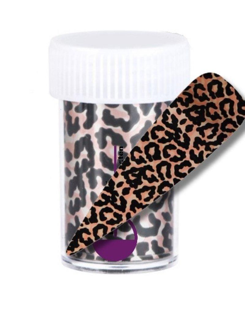 Transferfolie Leopard Rosegold