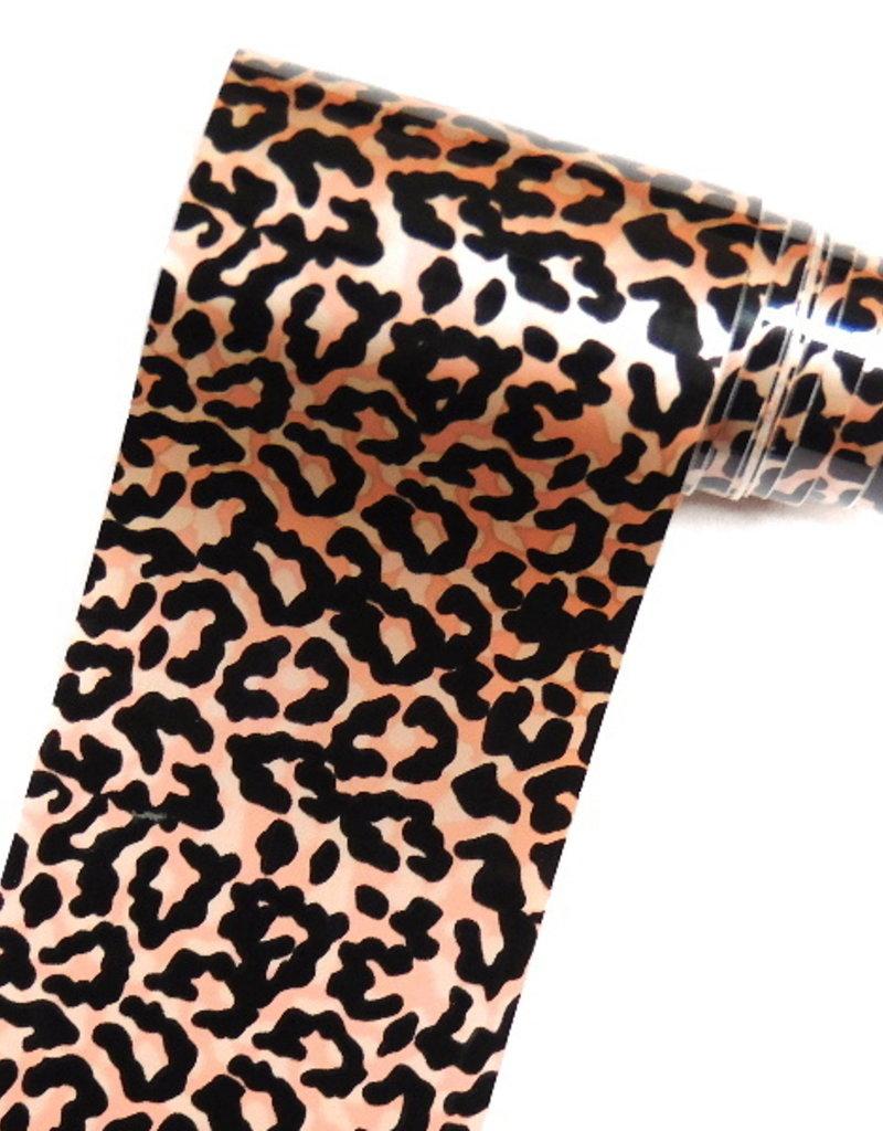 Transfer Foil Leopard Rosegold