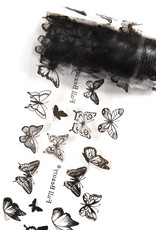 Transfer Foil Black Butterfly