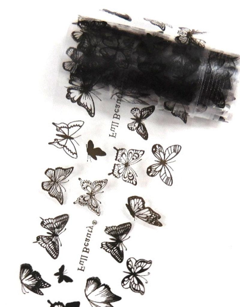 Transferfolie Black Butterfly