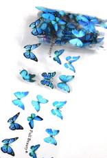 Transferfolie Blue Butterfly