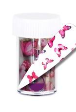 Transfer Foil Pink Butterfly