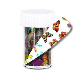 Transfer Foil Rainbow Butterfly