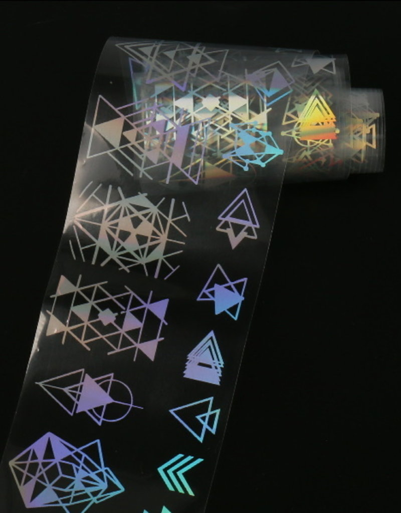Transferfolie Holographic Mountain