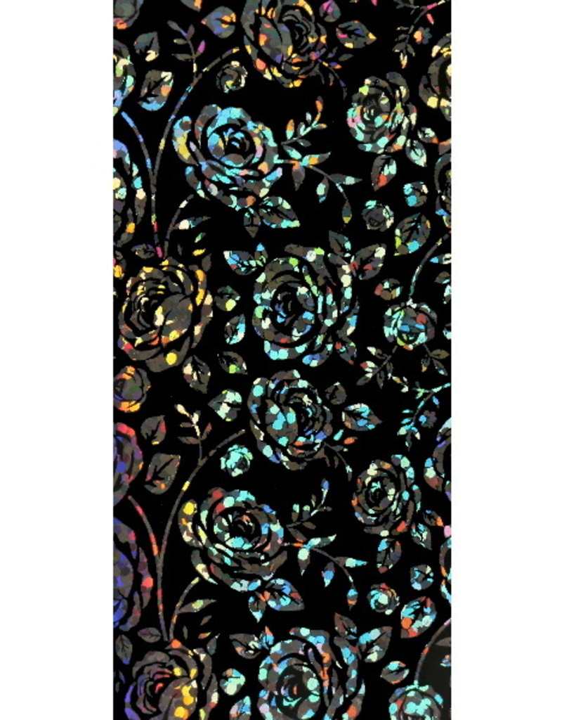 Transferfolie Holographic Roses