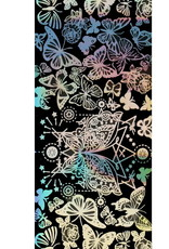 Transfer Foil Holographic Butterfly