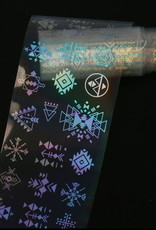 Transfer Foil Holographic Figures