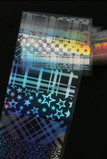 Transfer Foil Holographic Gingham