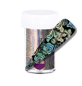 Transfer Foil Holographic Flower Field