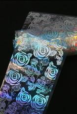 Transferfolie Holographic Flower Field