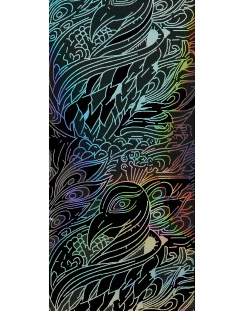 Transfer Foil Holographic Peacock
