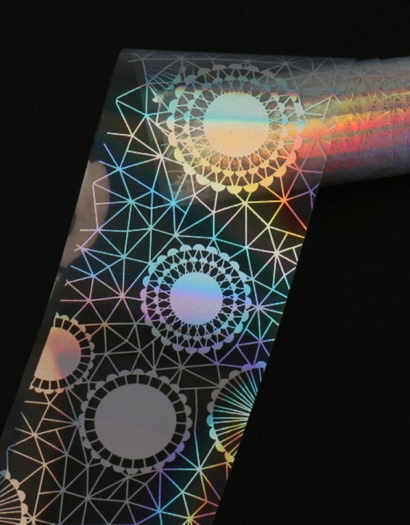 Transfer Foil Holographic Mandala