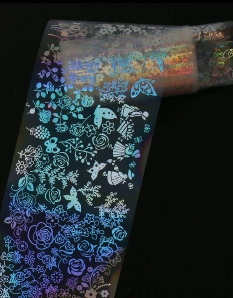 Transfer Foil Holographic Petals