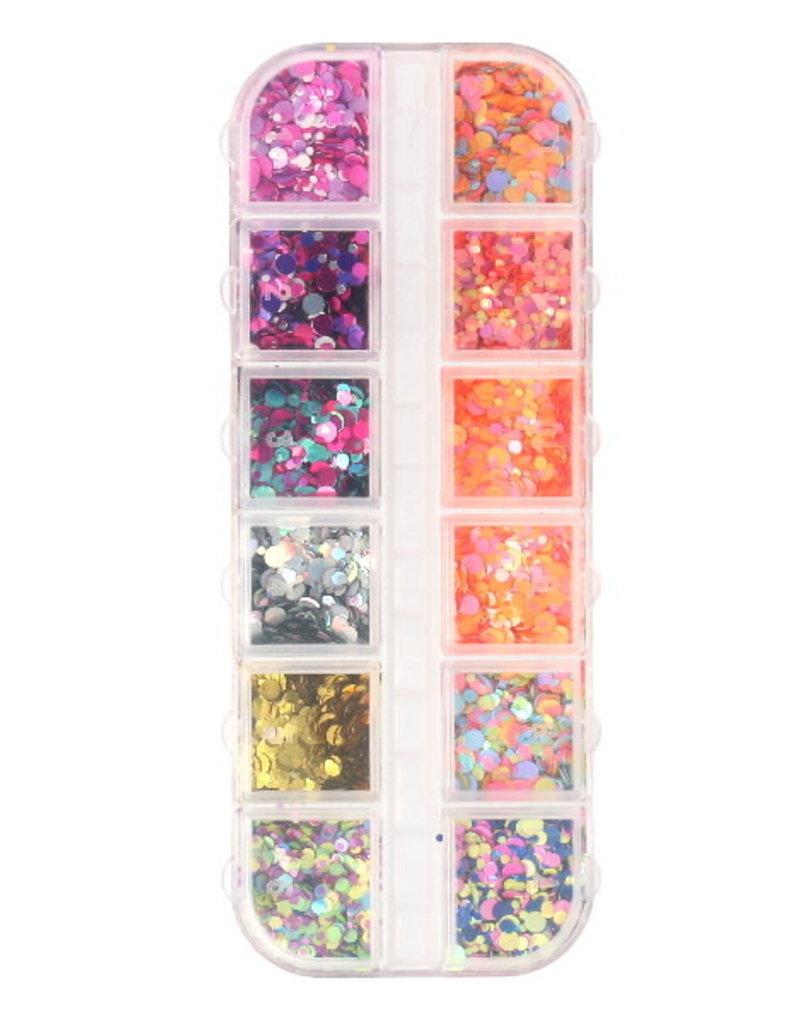 Inlay Matte/Shiny Mix Butterflies