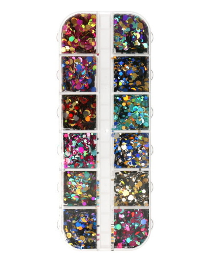 Inlay Holographic Color Mix Paillettes