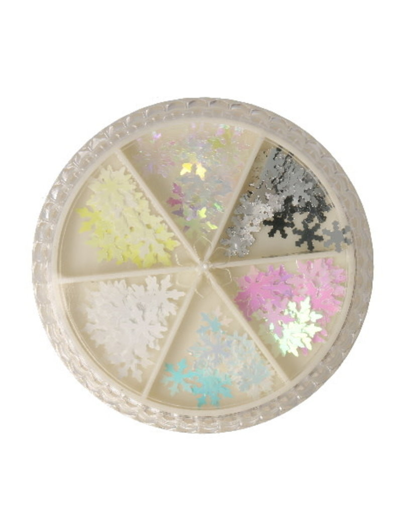 Carrousel Snowflakes Iridescent