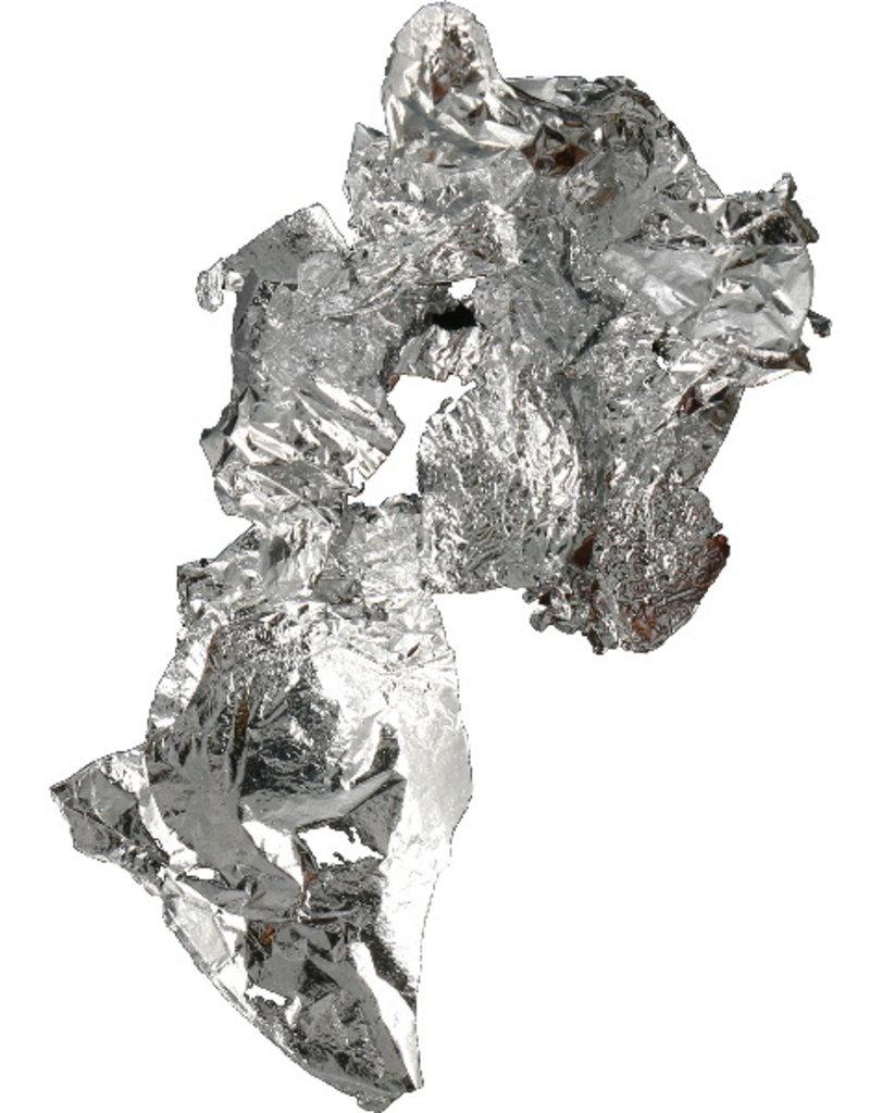 Bladfolie Puur Zilver