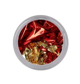 Leaf Foil Gold/Red