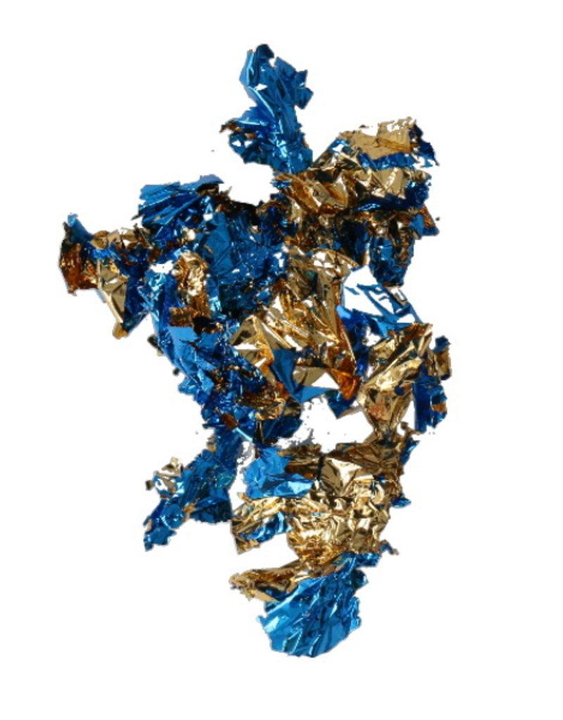 Leaf Foil Blue/Gold