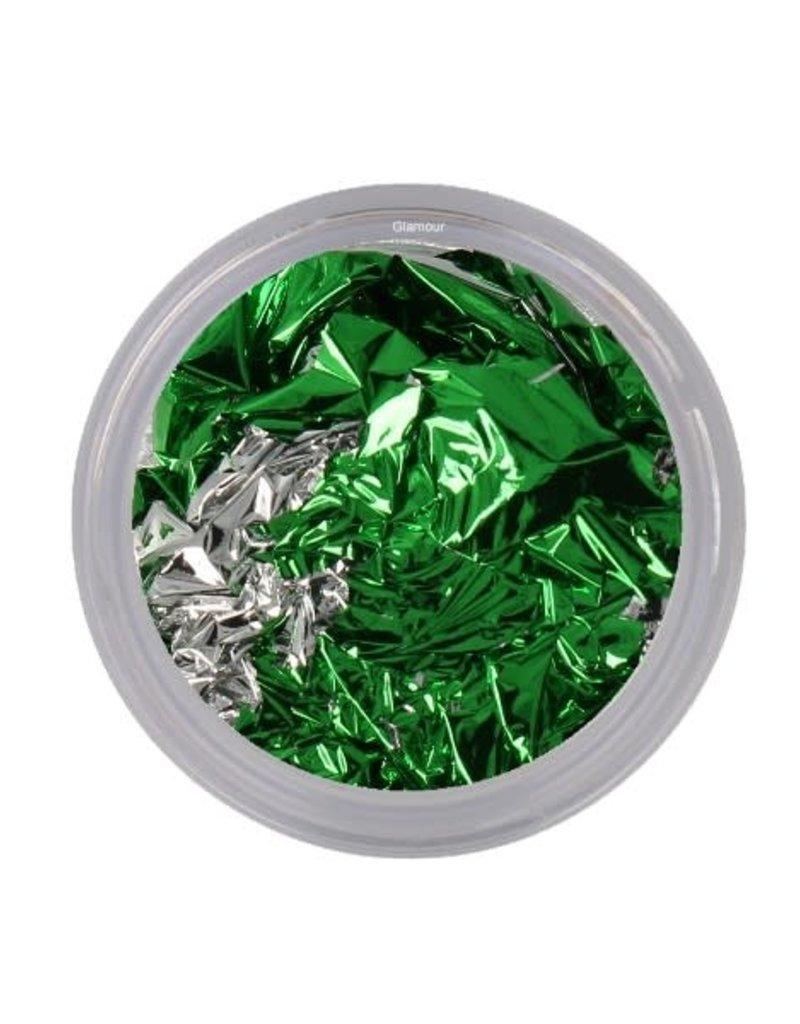 Leaf Foil Green/Silver
