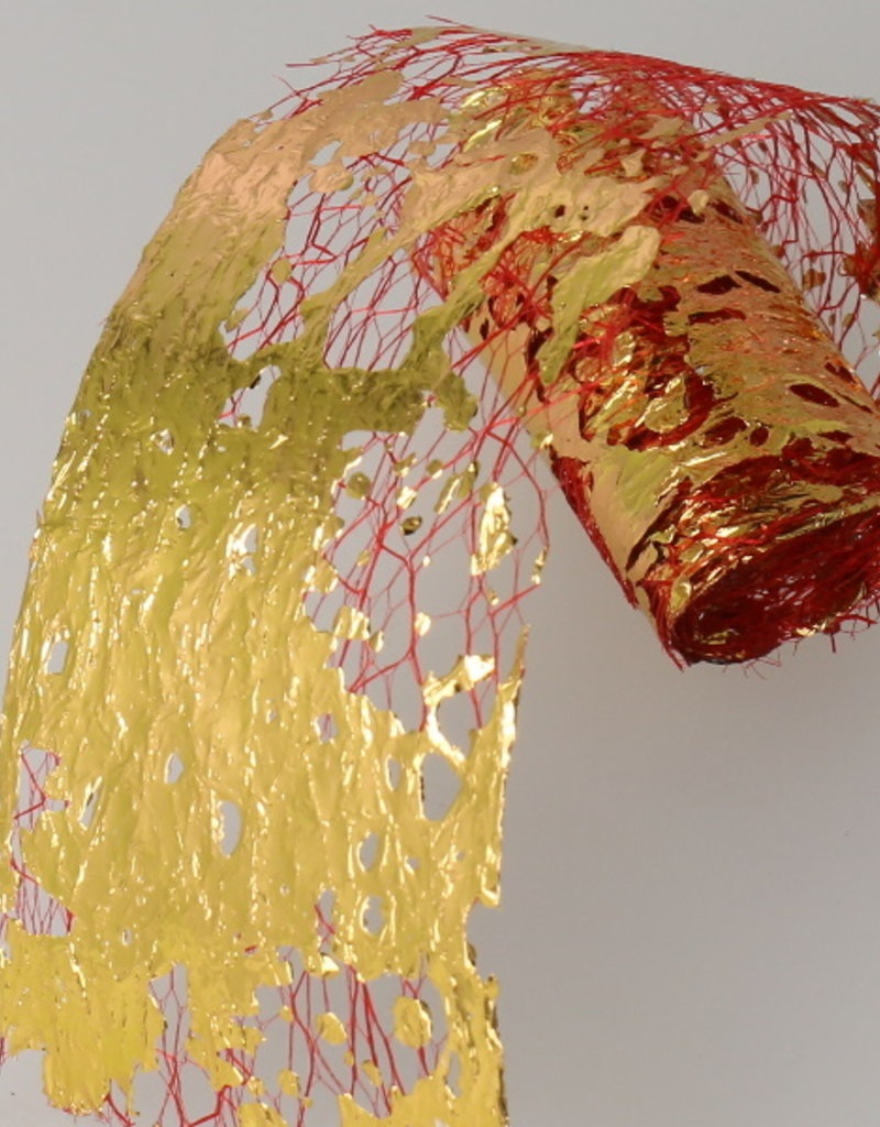 Netting Foil Red/Gold