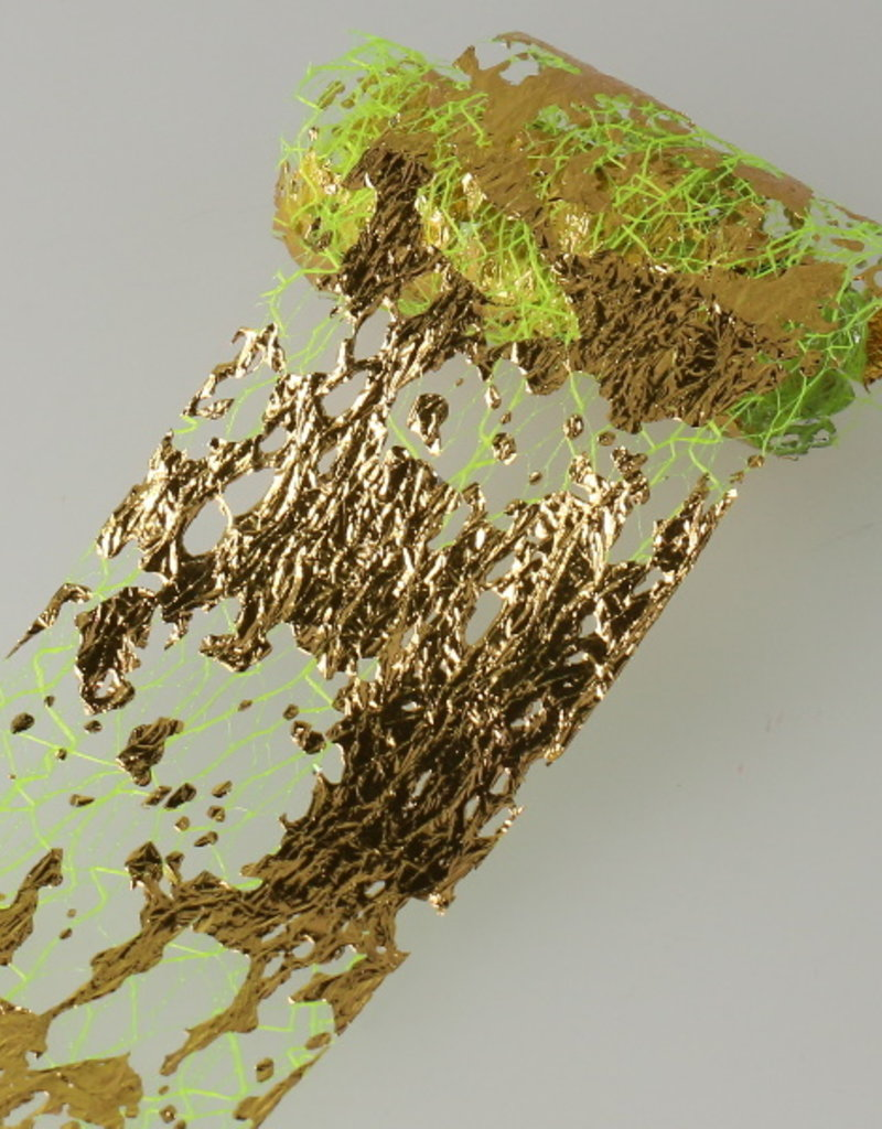Netting Foil Green/Gold