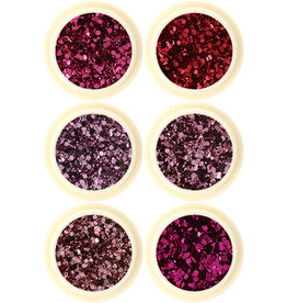 Glitter Set Rose Field