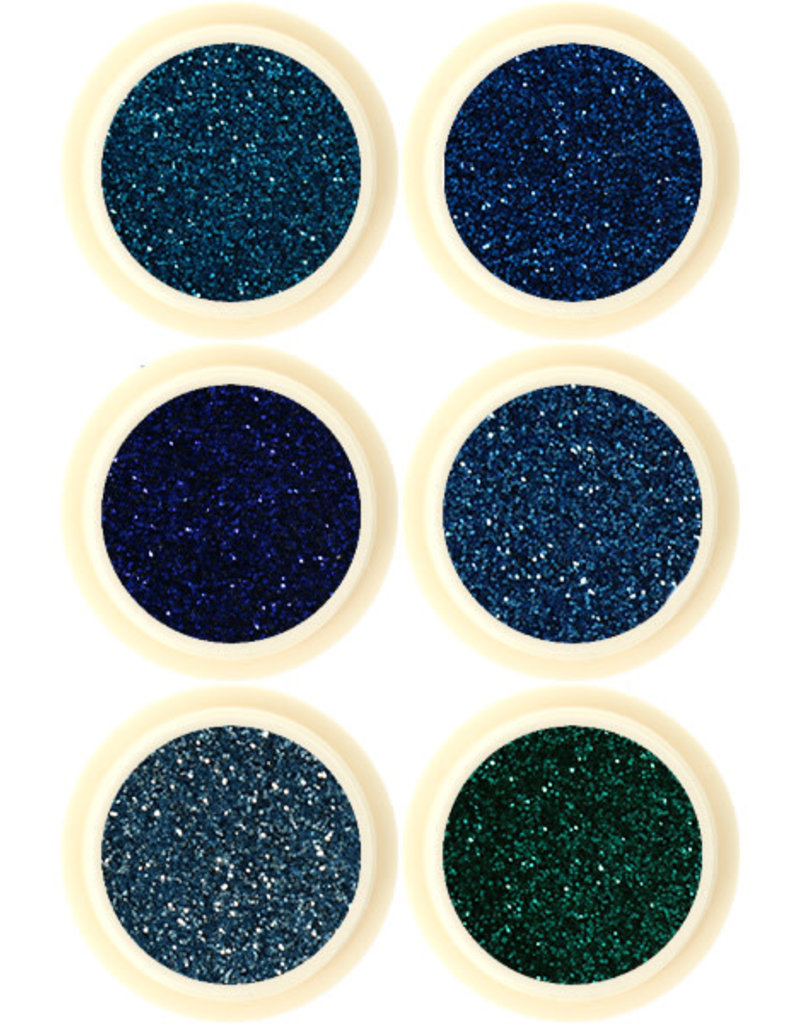 Glitter Set Sea Foam