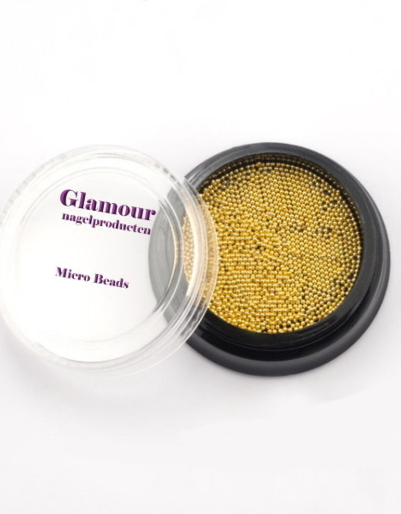 Micro Beads Gold 0.5mm