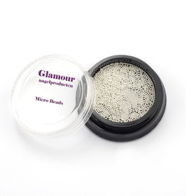 Micro Beads Silver White 0.5mm