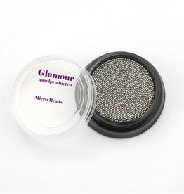 Micro Beads Silver 1.0mm